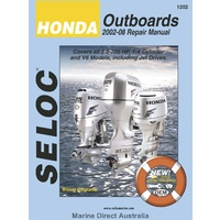 Honda Outboards 2002 to 2008