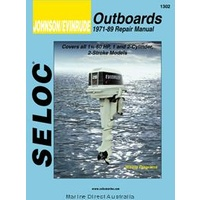 Johnson Evinrude Outboards Manual 1-2 Cyl 1971-89