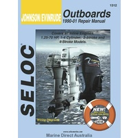 Johnson Evinrude Outboards  Manual- All Inline Engines 1990-01