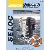 Johnson Outboard 2.5 - 250 hp, 2-Stroke and 4-Stroke Models 2002 - 2007