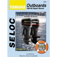 Yamaha Outboard Manual- All 2 & 4 Stroke Models 1984-96