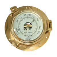231011     BLA  Part     BAROMETER BRASS PORTHOLE 186MM BASE