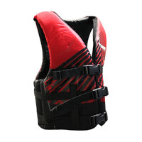241718     BLA  Part     PFD2 WAKEMASTER BLK/RED ADULT XXL