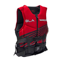 241748     BLA  Part     PFD2 WAKEMASTER NEO BLK/RED JUNIOR