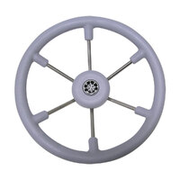 271214     BLA  Part     WHEEL LEADER SIX SPOKE GREY 367MM