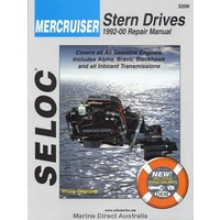Mercruiser Stern Drive Manual - All Gas Engines 1992-00