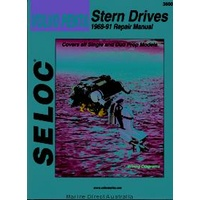 Volvo Penta Stern Drive Manual, All Gas Engines 1968-91