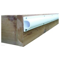 "DockEdge     DE1205F     Heavy ""d"" Profile,  (3x8', 24 Ft/Carton),  White"